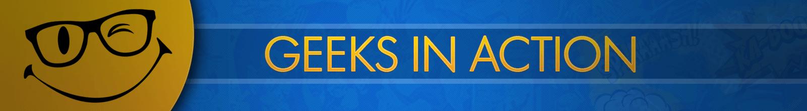 Geeks In Action- Sua fonte de recomendações e entretenimento!