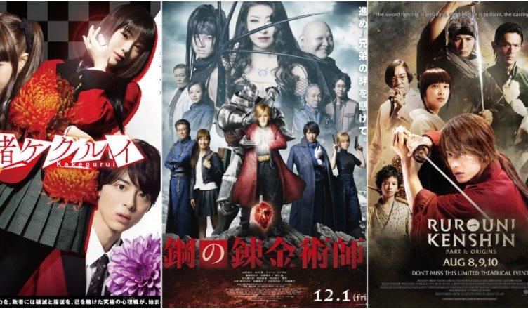 5 Anime Que Tem ótimas Adaptações Live Action E 5 Que Não Geeks In Action Sua Fonte De Recomendações E Entretenimento
